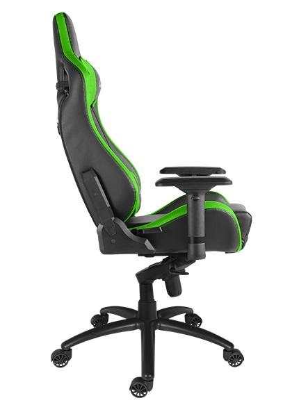 CADEIRA Alpha Gamer Polaris Racing Black Green